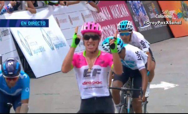 Colombia Oro y Paz 2018 tappa 5: vince Uran, Quintana nuovo leader
