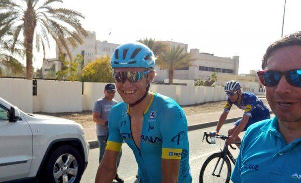 Tour of Oman 2018 tappa 4 vittoria di Cort Nielsen, 2° Visconti e 3° Bettiol
