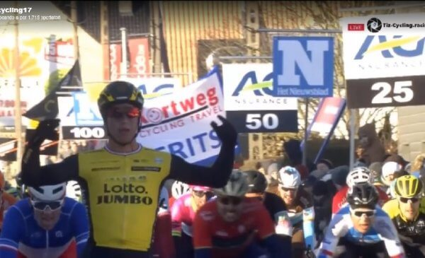 Kuurne-Bruxelles-Kuurne 2018: vittoria di Groenewegen, Colbrelli 3°!