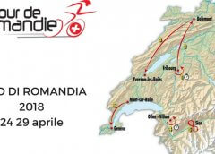 Tour de Romandie 2018: tappe, percorso, altimetrie e start list