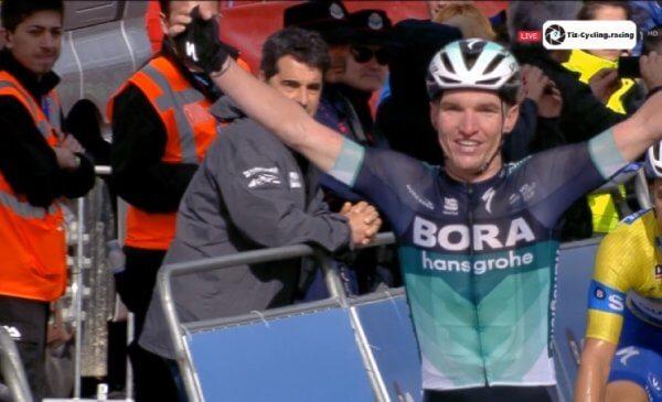 Giro dei Paesi Baschi 2018 McCarthy ha vinto la 3^ tappa