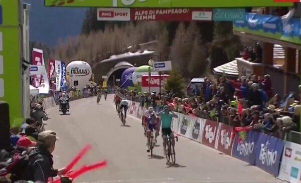 Tour of the Alps 2018 vittoria di Lopez e dedica a Scarponi!
