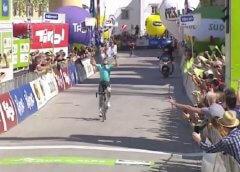 Sanchez regala al 3^ vittoria all'Astana al Tour of the Alps 2018