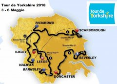 Tour de Yorkshire 2018: tappe, percorso, altimetrie e start list