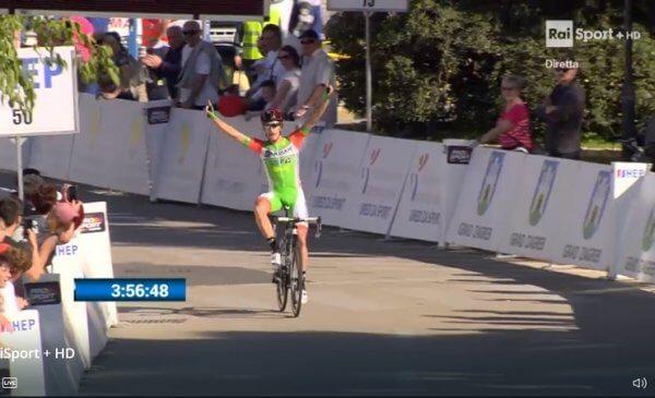Giro di Croazia 2018 tappa 4: assolo di Tonelli