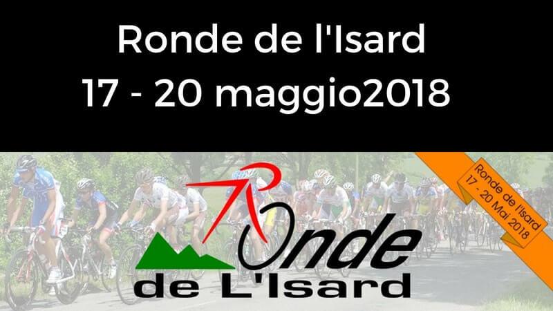 Ronde de l'Isard 2018 tappe, percorso, altimetrie e start list