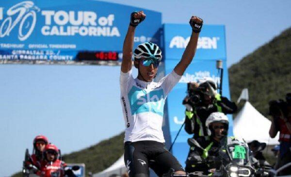Tour of California 2018 Bernal vince la 2^ tappa sulla salita di Gibraltar Road