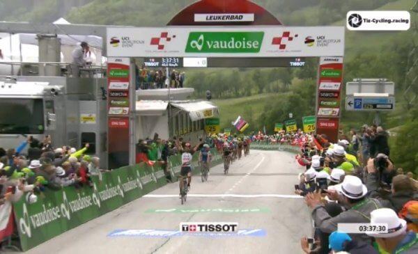 Giro di Svizzera 2018 Diego Ulissi vince la 5^ tappa!