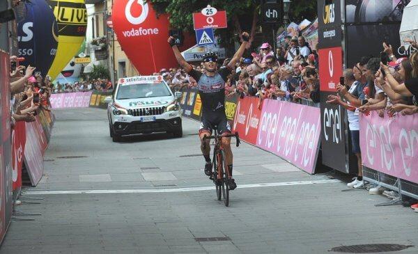 Giro d'Italia U23 2018 Wildauer vince la seconda tappa