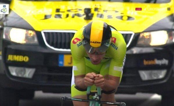 Roglic vince la crono e conquista il secondo Giro di Slovenia 2018