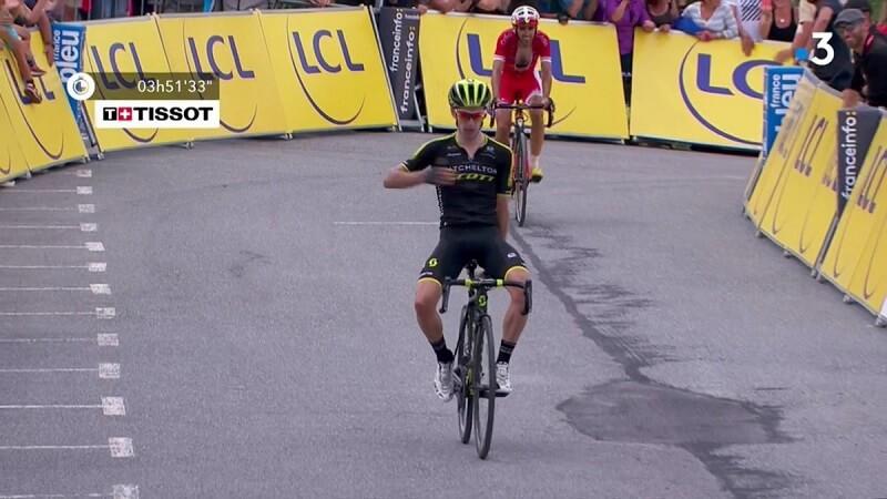 Adam Yates vince la 7^ tappa al Giro del Delfinato 2018