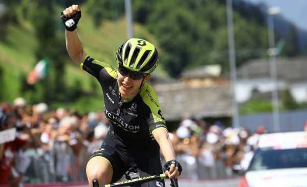 Giro Rosa 2018 tappa 6 risultato: vittoria e maglia per la Spratt