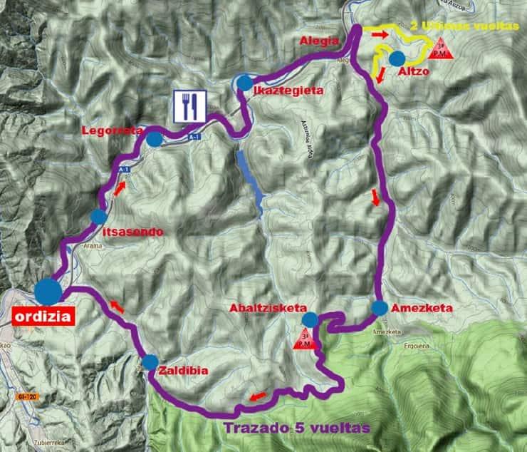 Prueba Villafranca de Ordizia - Clasica de Ordizia 2018 percorso