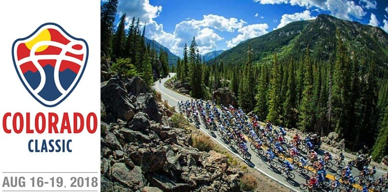 Colorado Classic 2018: tappe, percorso, altimetrie e start list