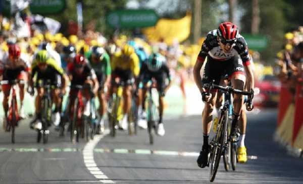 Tour de France: Dan Martin vince sul Mur de Bretagne