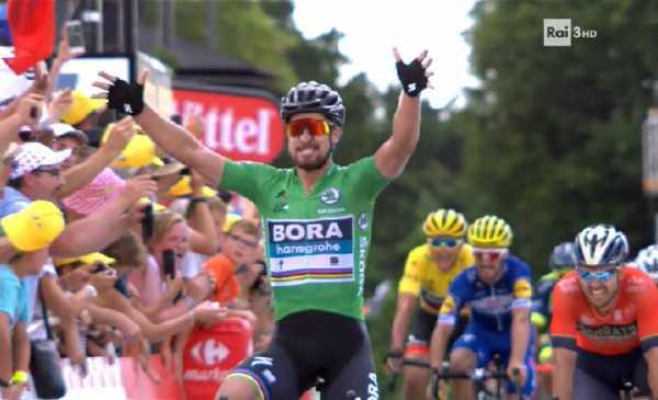 Tour de France 2018 Sagan il fenomeno! Colbrelli 2°