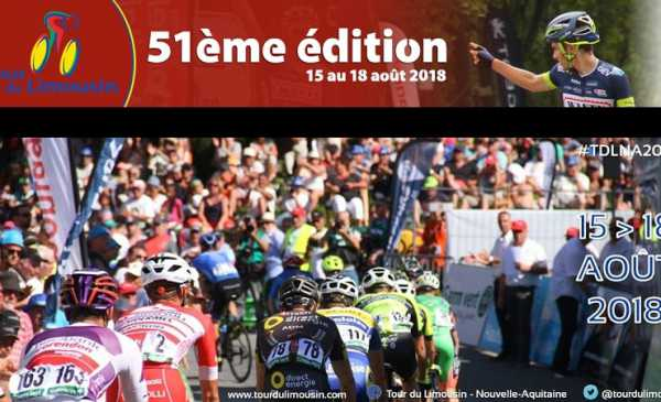 Tour du Limousin 2018 percorso, altimetrie e start list