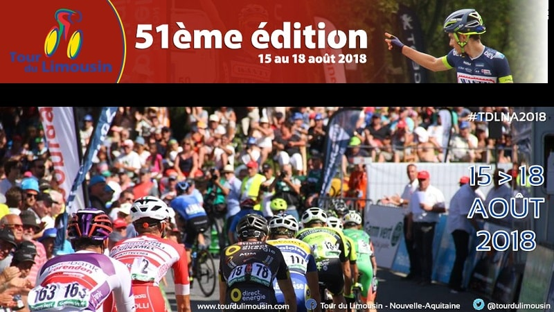 Tour du Limousin 2018 percorso, altimetrie e start list