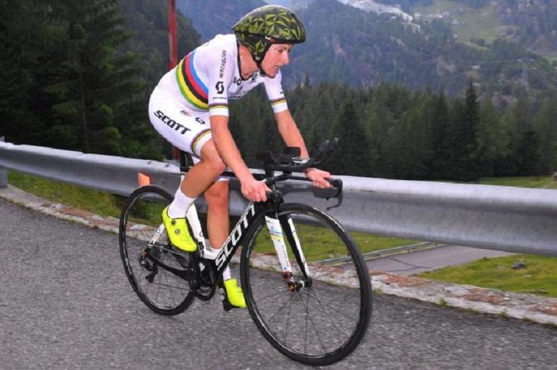 Giro Rosa 2018 la Van Vleuten domina la Crono Scalata