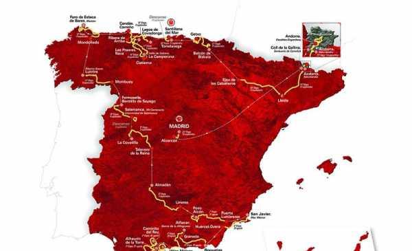 La Vuelta di Spagna 2018 anteprima con tutte le altimetrie