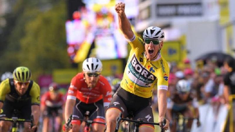 Giro di Polonia 2018 tappa 2 bis di Ackermann, Nizzolo 3°