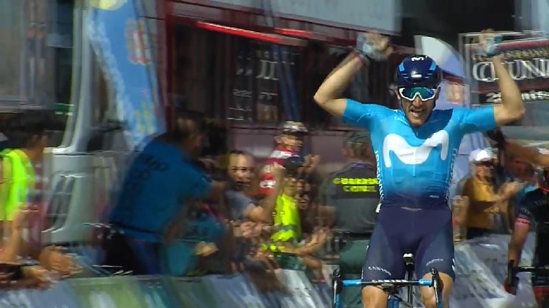 Vuelta a Burgos 2018 tappa 4 Barberos batte Tizza e Bagioli