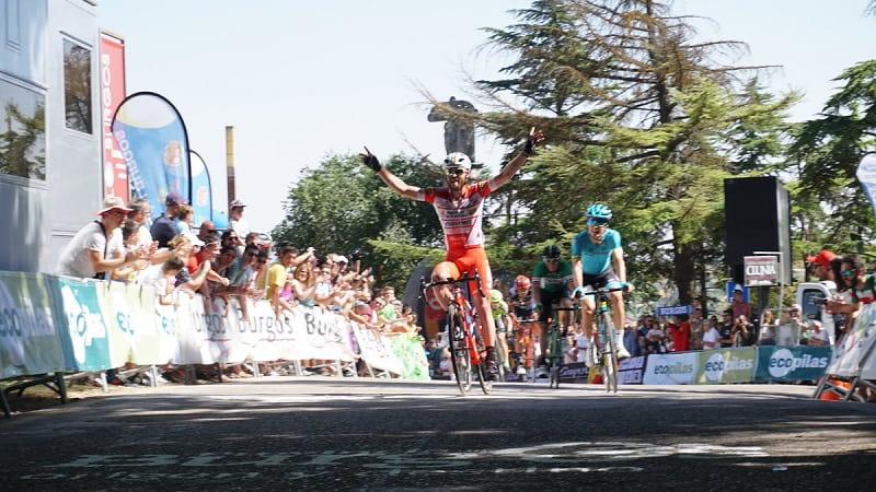 Vuelta a Burgos 2018 Gavazzi buona la prima!