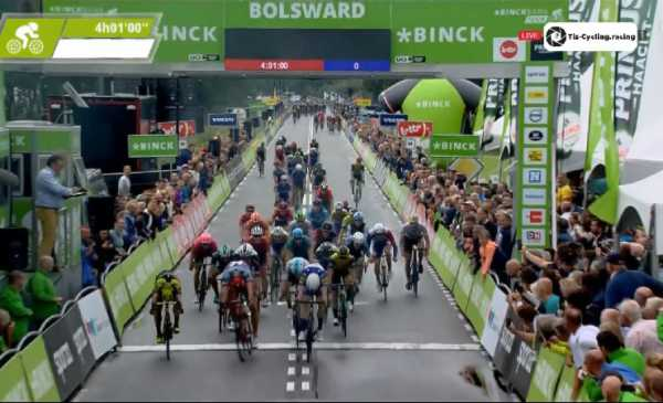 Binck Bank Tour 2018 Jakobsen batte in volata Kittel e Ewan