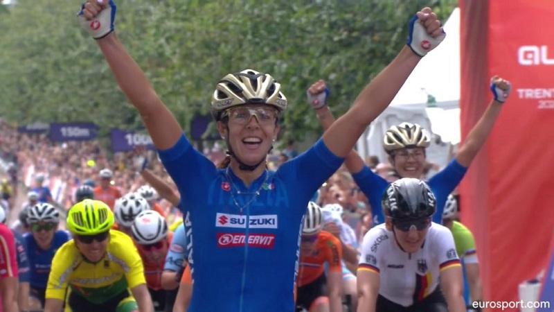 Marta Bastianelli oro agli Europei Ciclismo su Strada di Glasgow!