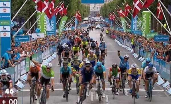 Wout Van Aert Giro di Danimarca 2018 a Merlier l'ultima tappa