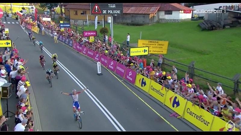 Giro di Polonia 2018 Preidler vince la 7^ tappa, Kwiatkowski controlla e resta laeder