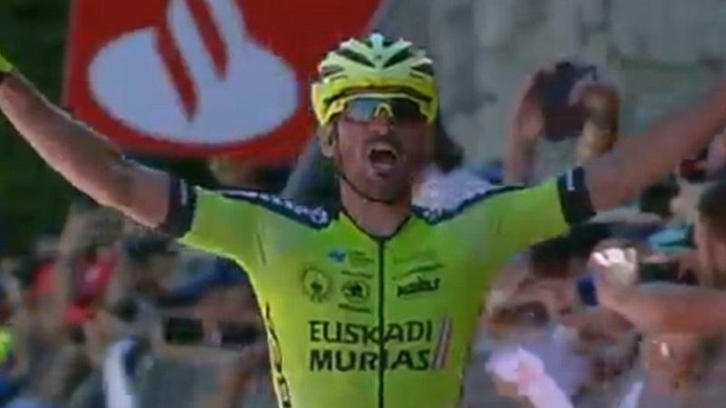 Giro del Portogallo 2017 Enrique Sanz vince la 7^ tappa