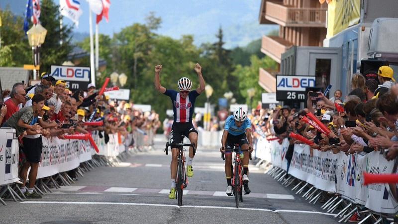 Tour de l´Avenir 2018 tappa 7 con le Alpi il gioco si fa duro e la spunta Sosa