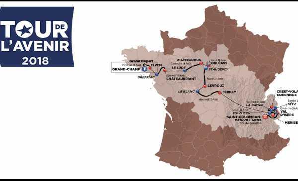 Tour de l´Avenir 2018 tappe con altimetrie, percorso e start list
