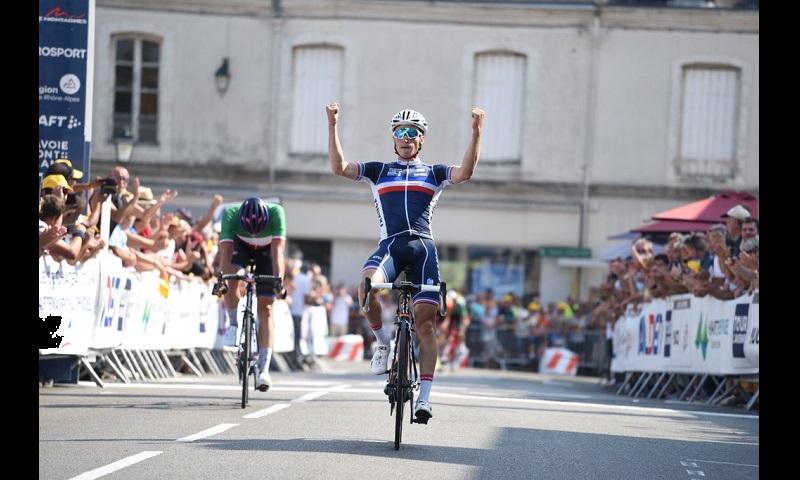 Tour de l´Avenir 2018 tappa 3: vittoria di Touze, terzo Affini