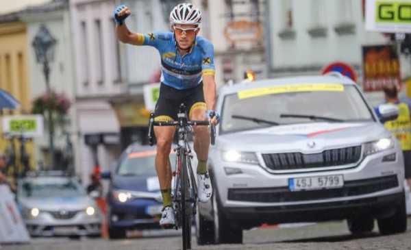 Giro della Repubblica Ceca 2018 tappa 2: vittoria di Riccardo Zoidl, Fortin 2°