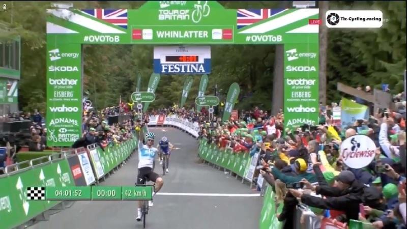 Tour of Britain 2018 Wout Poels vince la 6^ tappa, Alaphilippe nuovo leader della generale