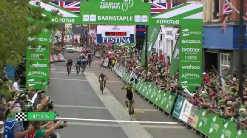Ovo Energy Tour of Britain Meyer vicne la 2^ tappa in Barnstaple Tonelli leader della generale!