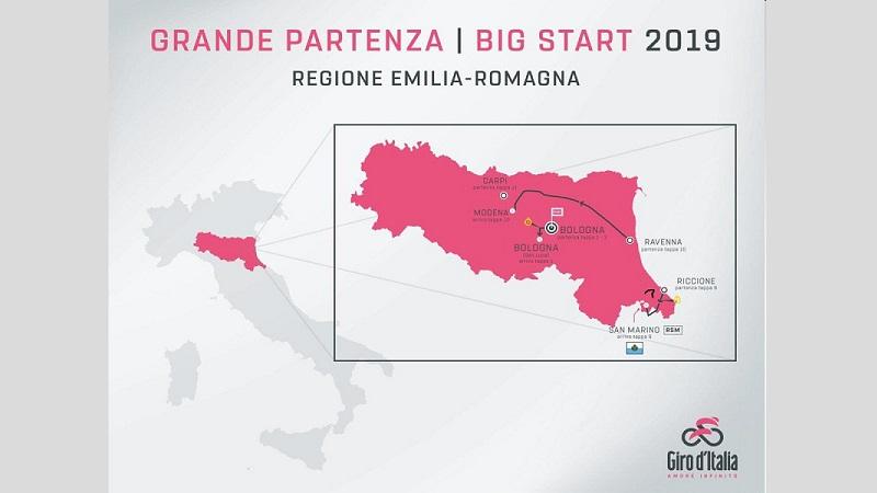 Giro d'Italia 102 presentata la Grande Partenza
