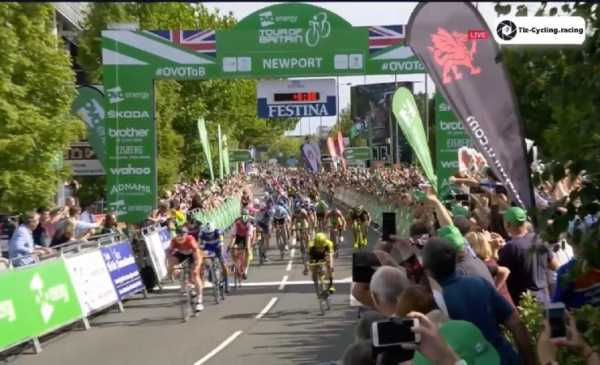 Ovo Energy Tour of Britain 2018 tappa 1 Greipel vince allo sprint