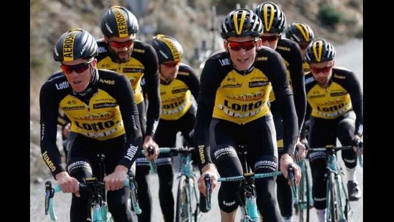 Tour of Britain 2018: la Lotto Nl Jumbo vince la Crono a squadre