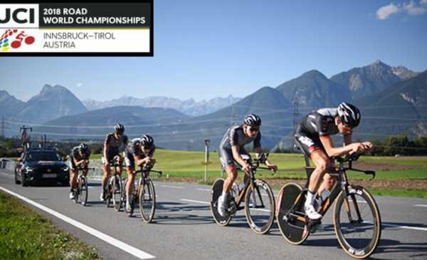 Mondiali di Insbruck cronometro a squadre maschile percorso e start list e ordine di partenza