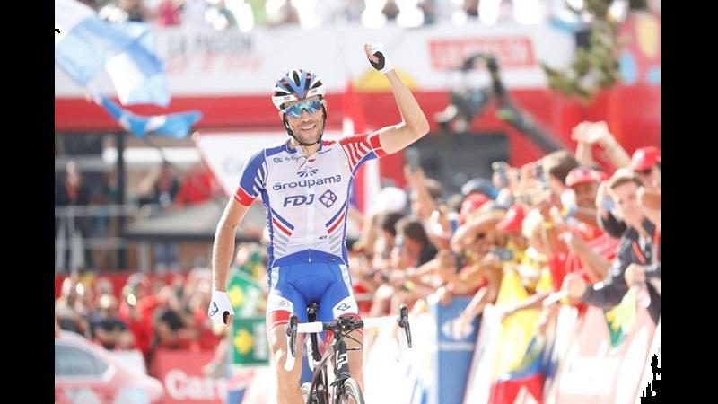 Vuelta a España 2018 tappa 19 Pinot concede il bis sul Coll de la Rabassa, Yates secondo