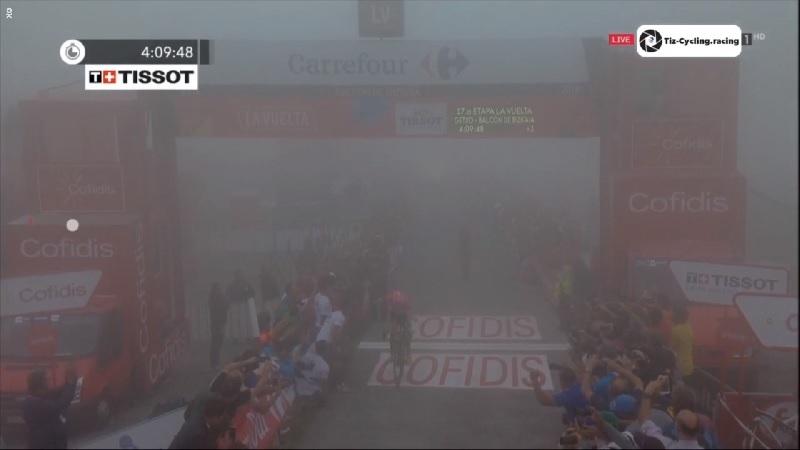 Vuelta a España 2018 tappa 17: Woods vince sul Balcon de Bizkaia, Nibali protagonsita