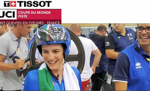 CdM Pista: nella prima giornata tre medaglie e un nuovo record italiano