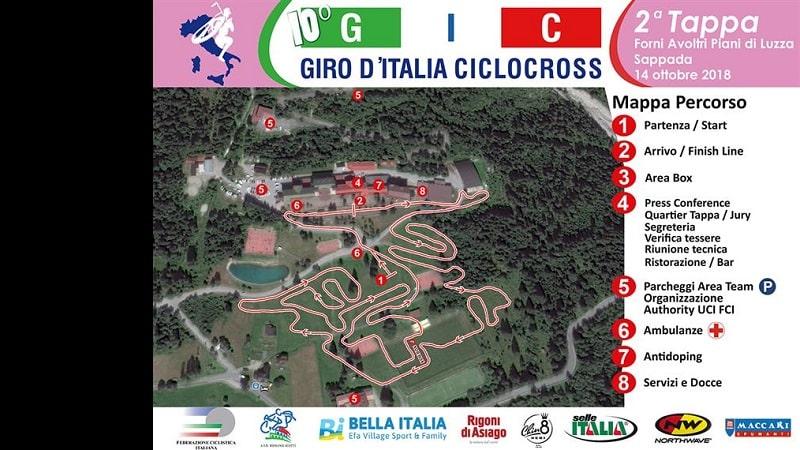 Giro d'Italia Ciclocross anteprima 2^ tappa Sappada- Piani di Luzza UD