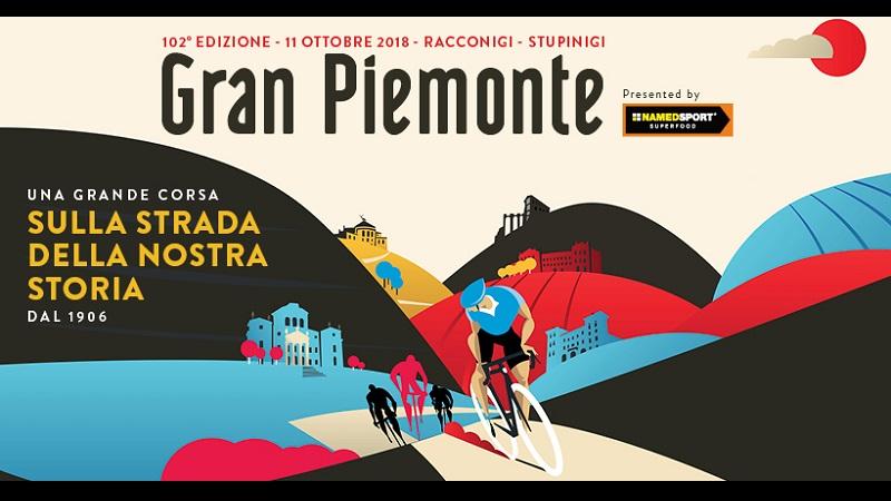 GranPiemonte 2018 percorso, altimetria e strat list della 102esima edizione