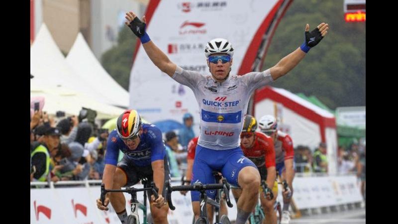 Tour of Guangxi 2018: colpo doppio per Jacobsen vince la 3^ tappa e conquista la Maglia Rossa