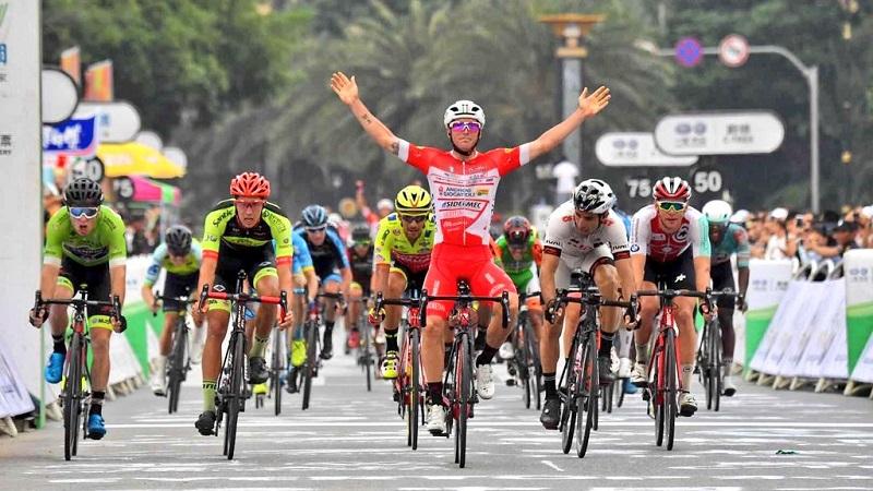 Tour of Hainan 5^ tappa: bis di Belletti