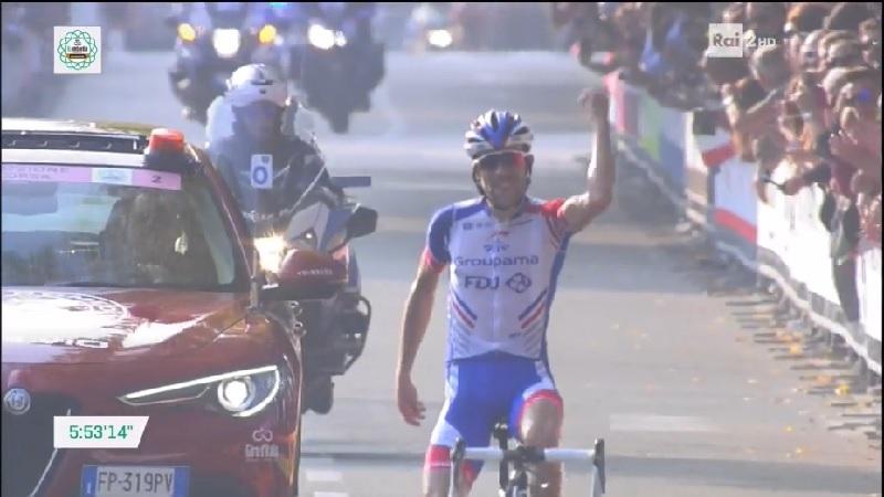 Pinot conquista Il Lombardia, un grande Nibali arriva secondo!